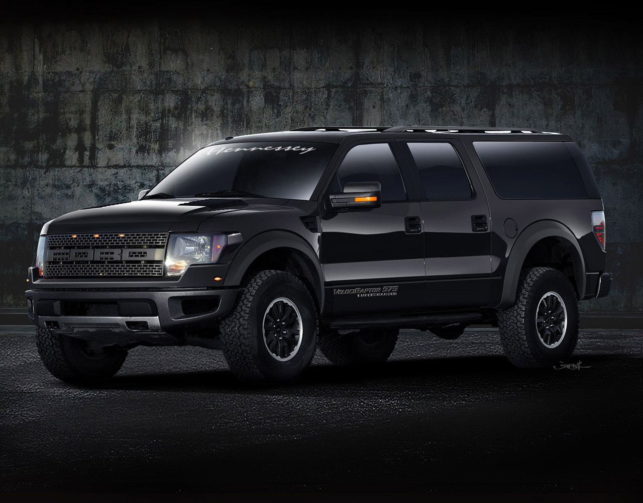 Hennessey VelociRaptor APV - The World's First Armored Performance Vehicle - eXtravaganzi