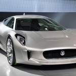 Jaguar C-X75 Concept Looks Forward to the Future