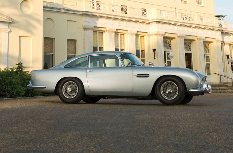 James Bonds's 1964 Aston Martin DB5