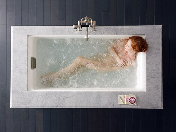 KOHLER Cast Iron BubbleMassage Baths