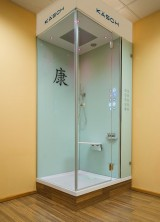 Kaesch Micro Steam Shower with Built-in Spa-like Skin Cleansing Treatments