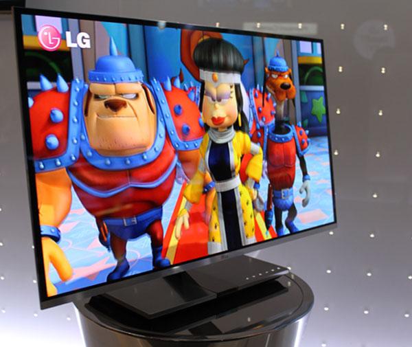 31-inch LG World's Slimmest OLED 3DTV