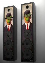 Custom Built Leon Home Theater Speakers Combine Aesthetic Design With High Fidelity