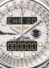 Limited Edition Breitling Chronospace Jet Team Watch