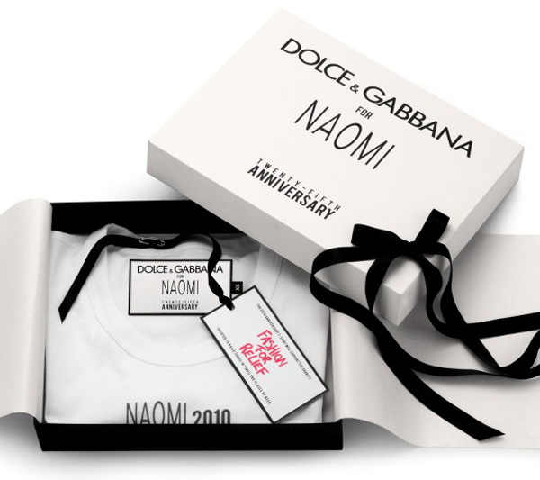Limited-Edition-Dolce-&-Gabbana-Naomi-Campbell-T-Shirt-Collection-1