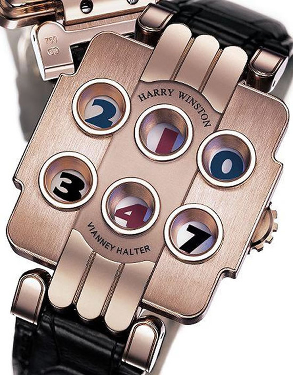 Limited Edition Harry Winston Opus 3 Watch