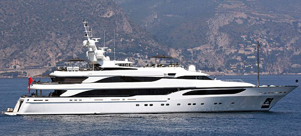Sir Philip Green's Lionheart Yacht