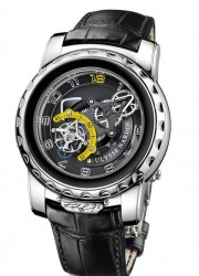 Ulysse Nardin Freak Diavolo Rolf 75 to Celebrate Rolf Schnyder's 75th birthday