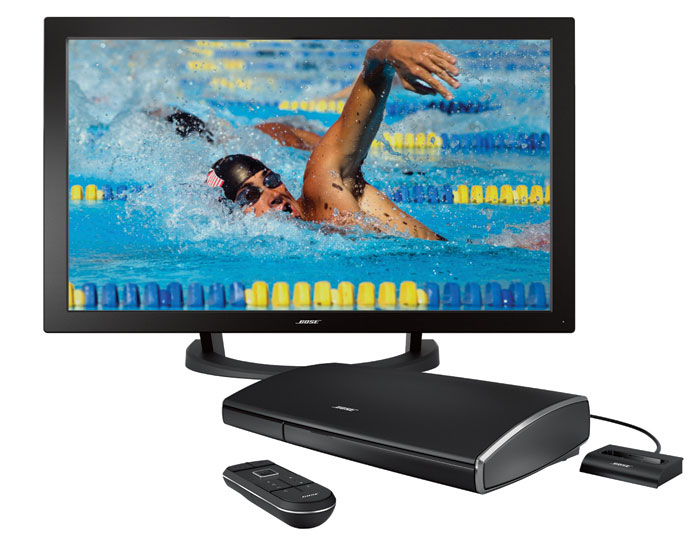 VideoWave Entertainment System - Bose 46-Inch LCD TV with 16 Speakers