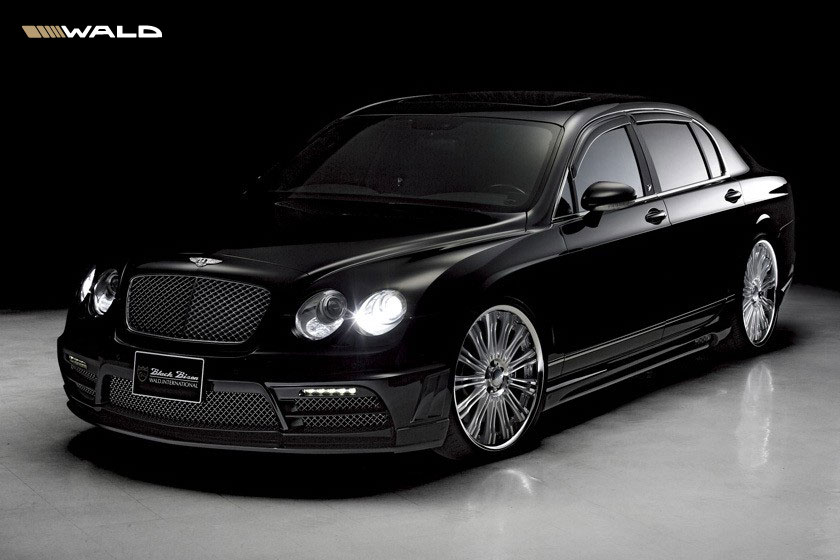 Bentley Continental Flying Spur Black Bison by Wald International