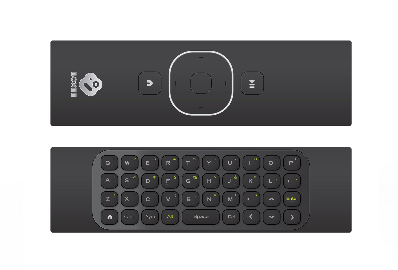D-Link's Boxee Box Remote