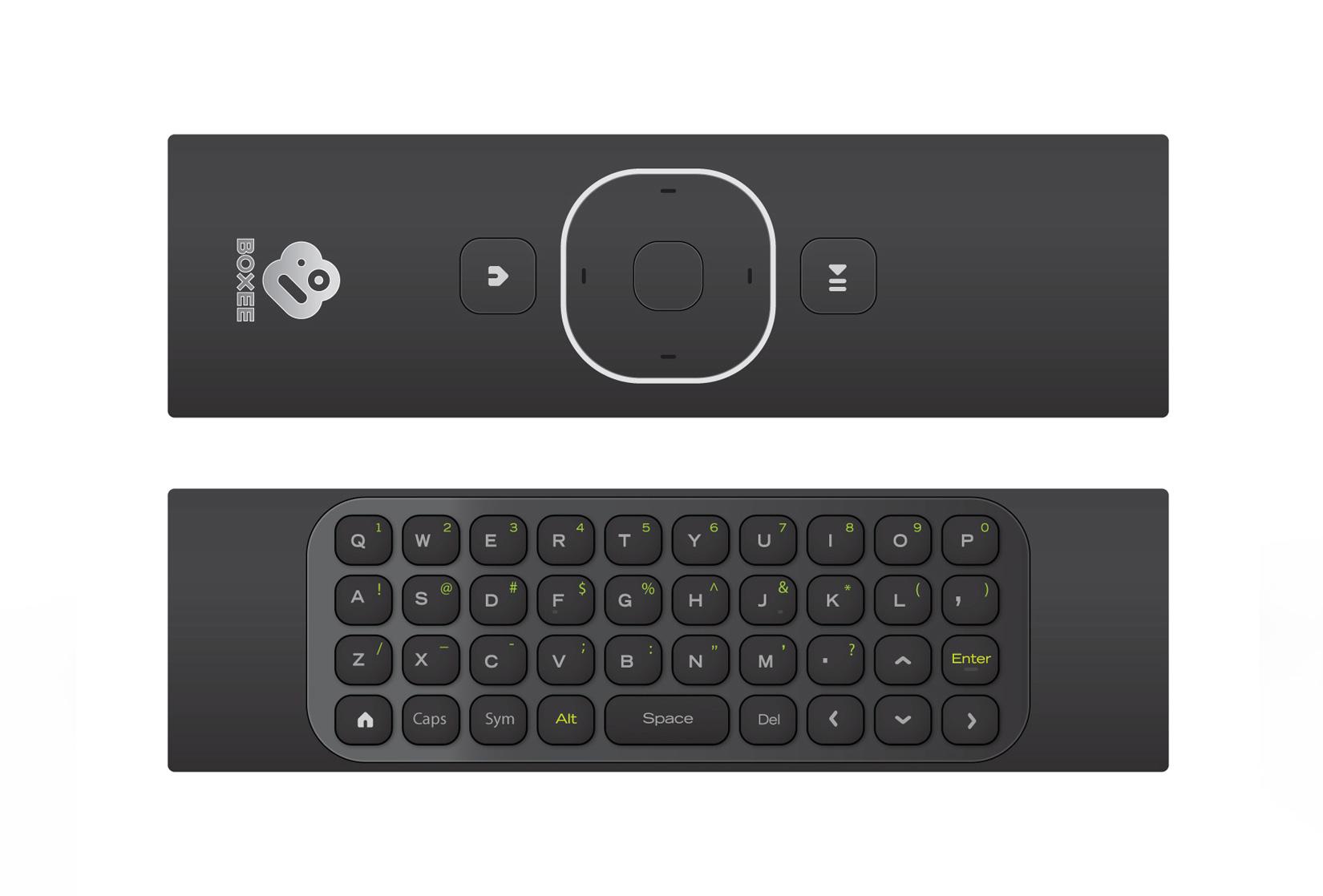 D-Link's Boxee Box Remote