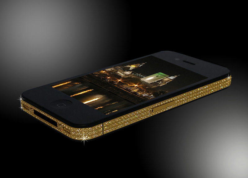 iPhone 4 Swarovski & Gold Edition