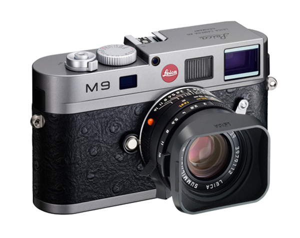 Limited Edition Leica M9 Shrouded in Ostrich Leather