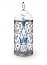 Limited Edition Magnum Grey Goose Vodka by Chopard Adorned with a Splendid Cage