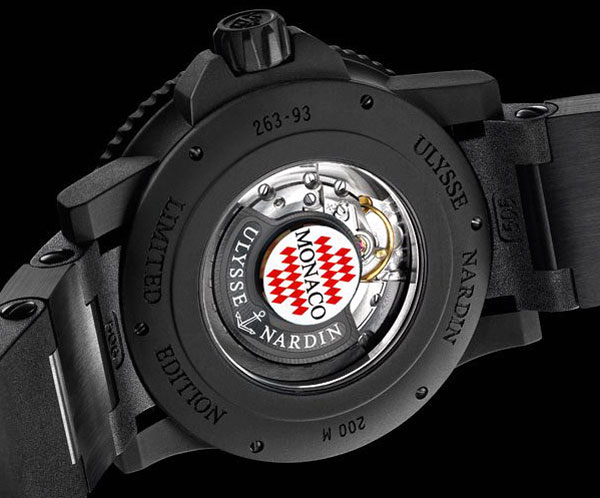 Limited Edition Ulysse Nardin 2010 Marine Diver Watch at the 2010 Monaco Yacht Show
