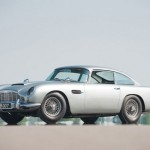 Watch Live Auction of James Bond's Aston Martin DB5