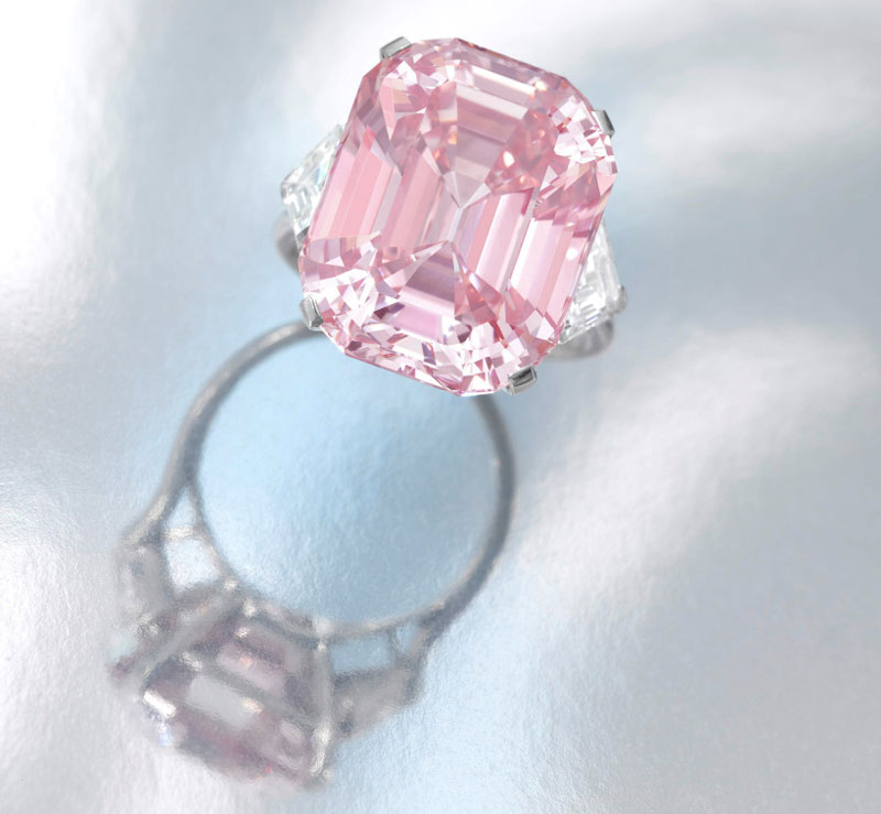 24.78 Carat Fancy Intense Pink Diamond