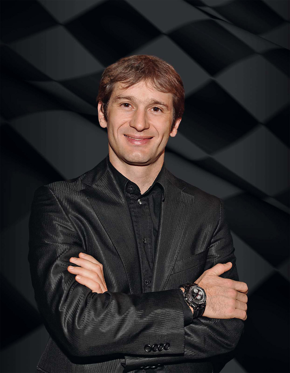 Jarno Trulli with Audemars Piguet Royal Oak Offshore Jarno Trulli Chronograph