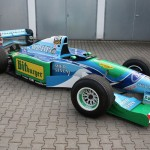 Michael Schumacher's F1 Benetton-Ford B194-8 Race Car for Sale