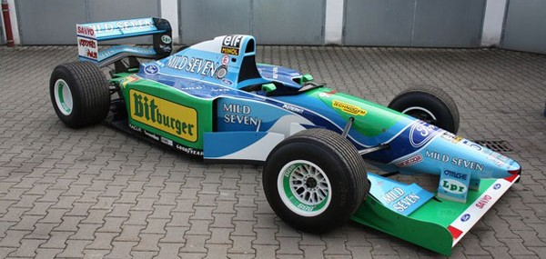 Benetton-Ford F1 B194-8 Race Car 6