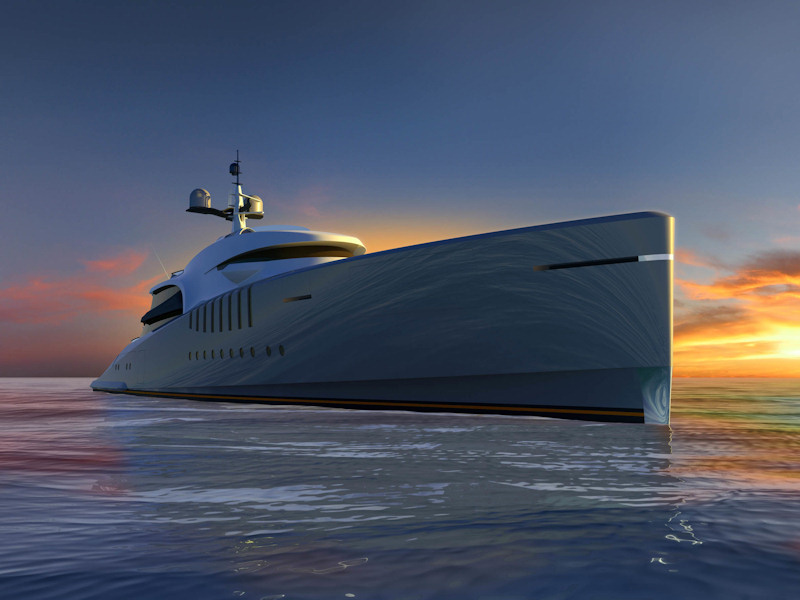 Claydon Reeves Present Remora Yacht, Their First Superyacht Design