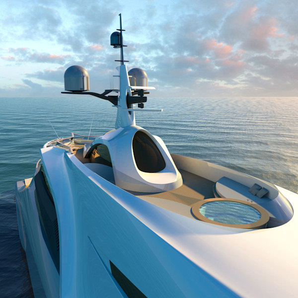 Remora Yacht designed by Claydon Reeves