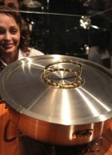 Diamond-studded Saucepan on Display at Millionaire Fair in Moscow