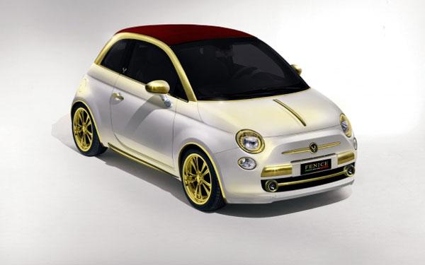 Limited Edition Fenice Milano La Dolce Vita Fiat 500