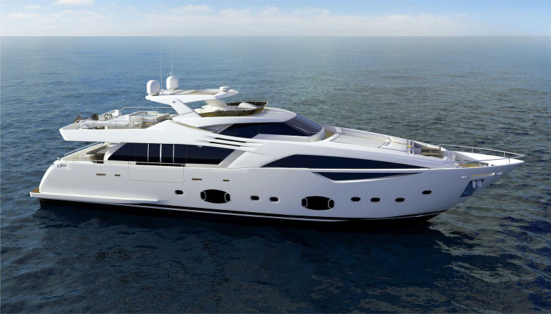 Ferretti Custom Line 100′ Yacht Offers a More Sporty Design