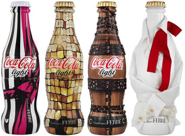 Gianfranco Ferre for Coca Cola