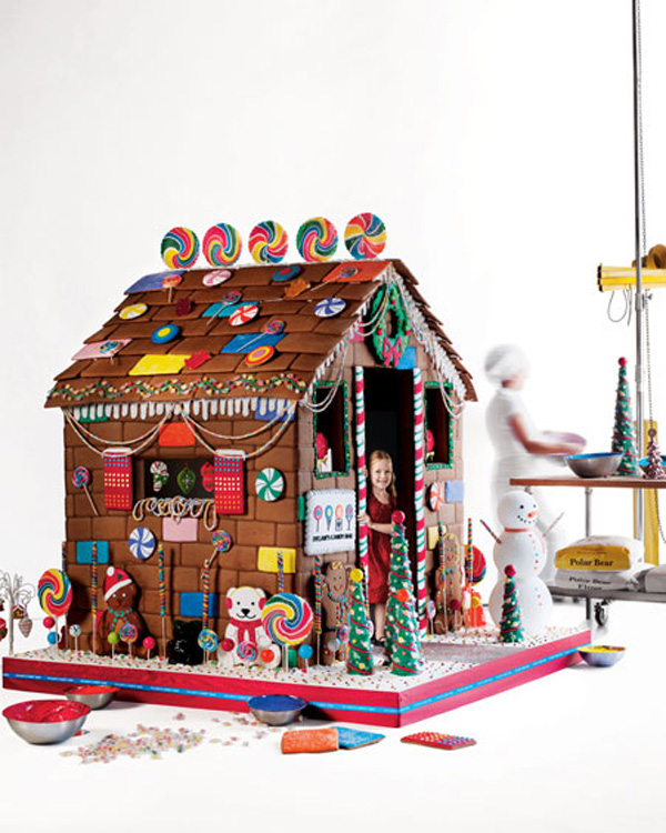 Edible Gingerbread Playhouse by Dylan's Candy Bar