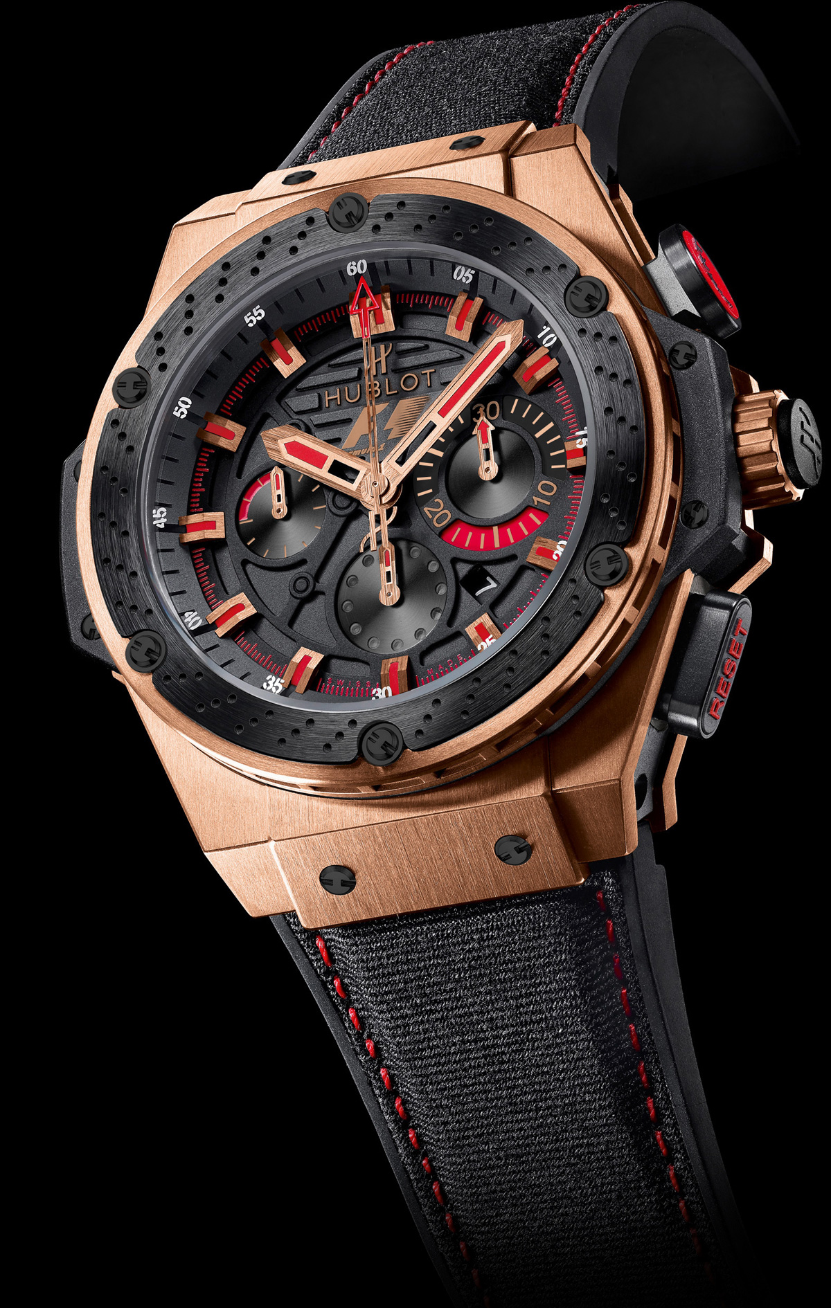 Limited Edition Hublot F1 King Power Gold