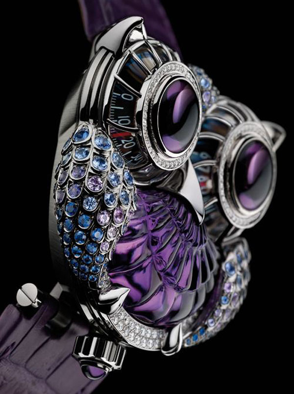 MB&F and Boucheron Release HM3 The JwlryMachine Watch
