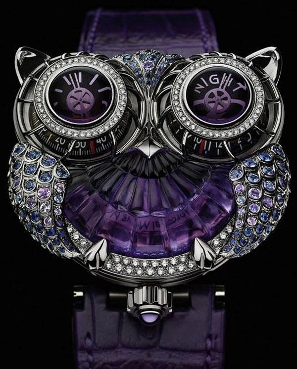 MB&F and Boucheron HM3 The JwlryMachine Watch