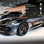 The Mercedes-Benz SLS AMG Night Black and C63 AMG Concept 358 Debuts at the Australian International Motor Show