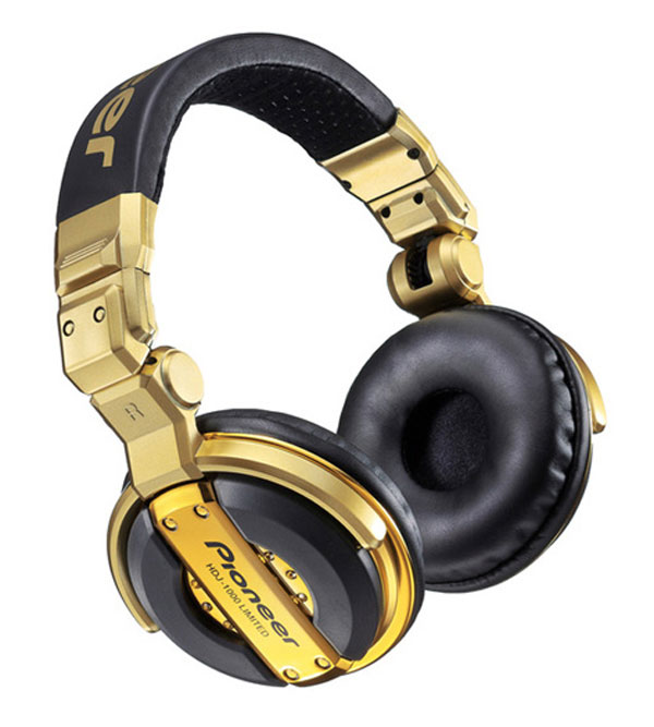 Pioneer Limited Edition HDJ-1000 Headphones for the Fashion-conscious DJs