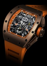 Limited Edition Richard Mille RM011 Titanium USA Brown Watch