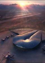 Virgin Galactic's VSS Enterprise Land on Spaceport America