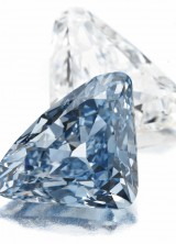 The BVLGARI Blue Diamond Sets Record Price at Christie's Auction