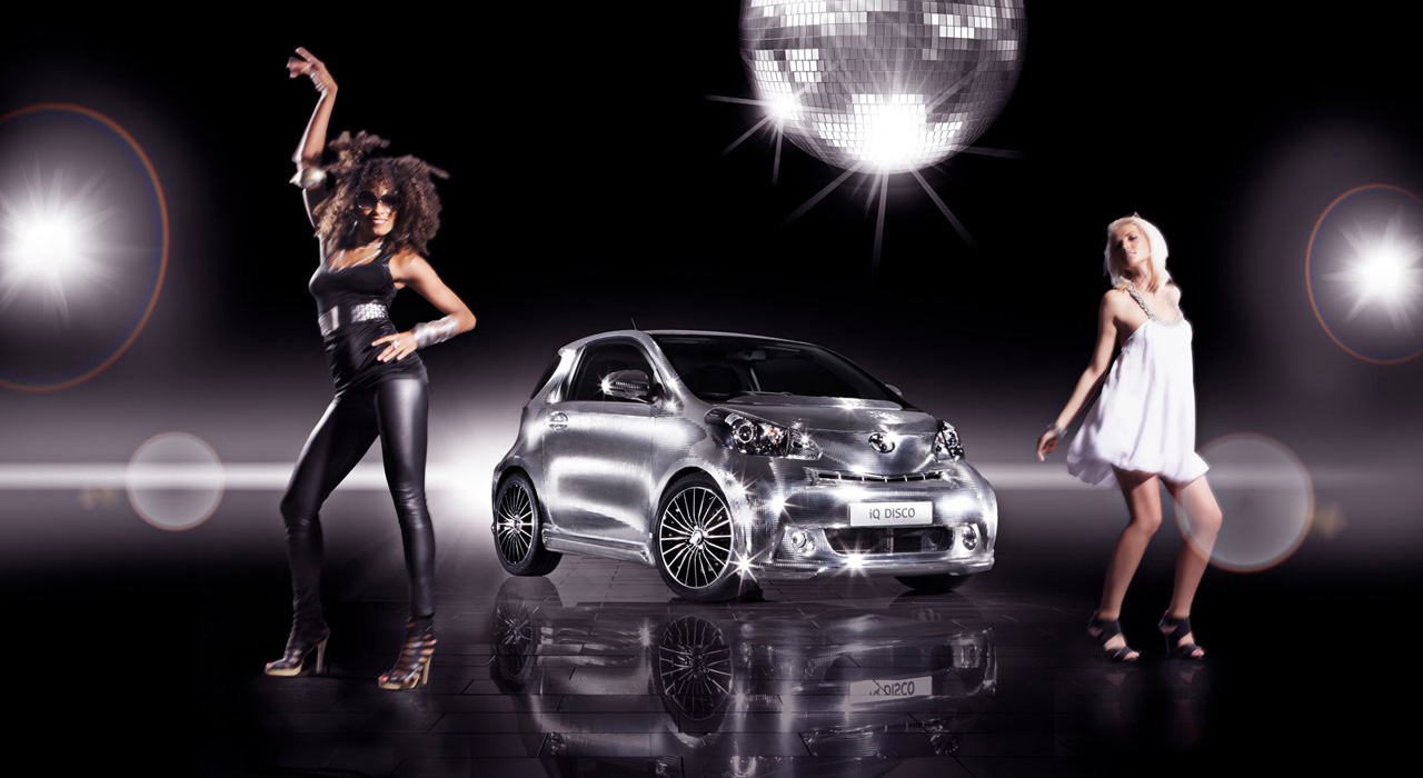 Toyota iQ Disco – Discotheque on the Wheels