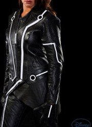 Limited Edition Sam Flynn and Quorra TRON Legacy Motorcycle Suits