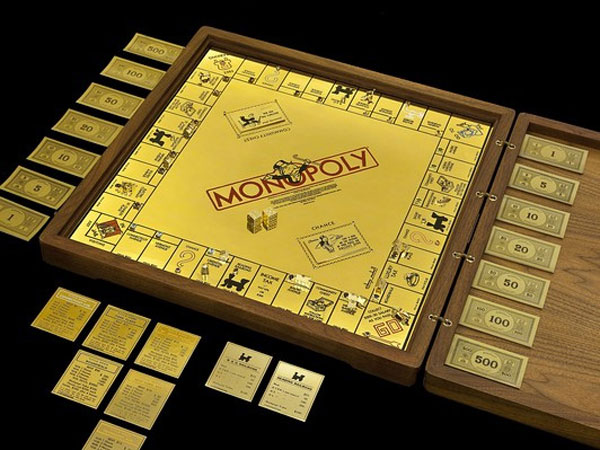 Worlds Most Expensive Monopoly Set on Display at the Museum of American Finance