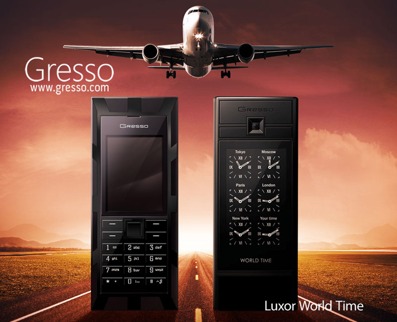 The Time is Money &#8211; Gresso Luxor World Time Luxury Phone
