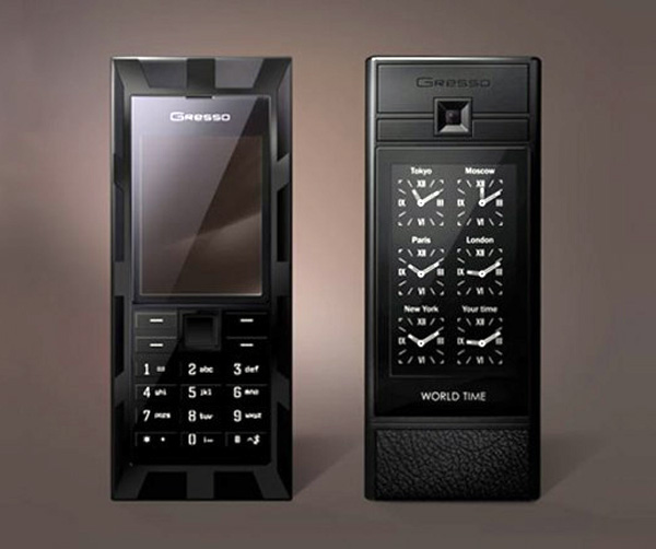 Gresso Luxor World Time Luxury Phone