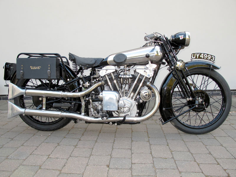 1929 Brough Superior SS100 - World's Most Expensive Motorcycle