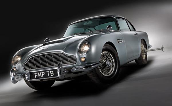1964 James Bond's Aston Martin DB5