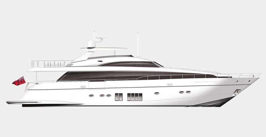32M Princess Yacht Will Be the Largest Yacht at the London International Boat Show