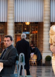 Angelina Jolie and Rufus Sewell on the Set of &quot;The Tourist&quot; Movie