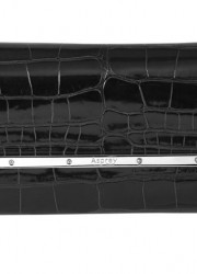 Asprey Mayfair Clutch in Black Alligator